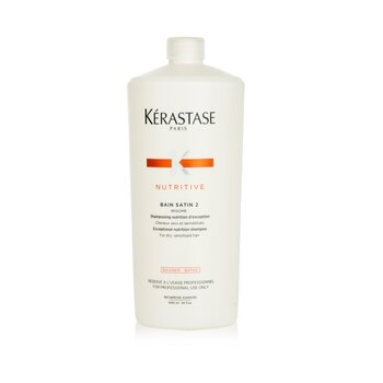 Kerastase Kerastase Nutritive Bain Satin 2 Complete Nutrition Champ� ( Cabello Seco y Sensible )  1000ml/34oz