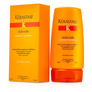 Kerastase Nutritive Oleo-Curl Curl Definition Cream - Leave In (For Thick, Curly Hair)  150ml/5.1oz