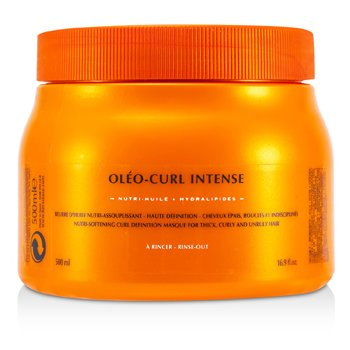 Kerastase Nutritive Oleo-Curl Intense Masque (For Thick, Curly and Unruly Hair)  500ml/16.9oz