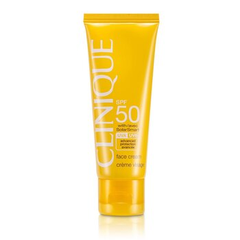 Clinique Sun SPF 50 Face Cream UVA/UVB  50ml/1.7oz