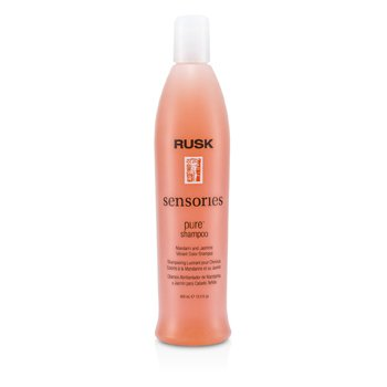 Rusk Sensories Pure Mandarin and Jasmine Vibrant Color Shampoo  400ml/13.5oz