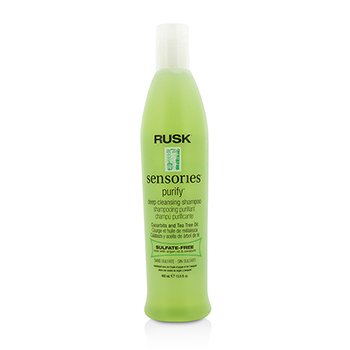 Rusk Sensories Purify Cucurbita and Tea Tree Champú Cabellos Grasos  400ml/13.5oz