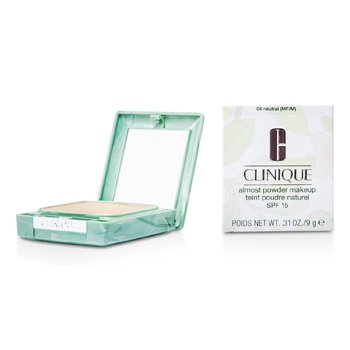 Clinique Almost Powder MakeUp SPF 15 - No. 04 Neutral (New Packaging)  9g/0.31oz