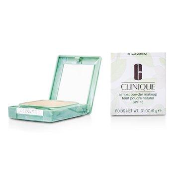 Clinique پودر آرایشی Almost با SPF15 - شماره 04 طبیعی ( با بسته بندی جدید)  13g/0.45oz