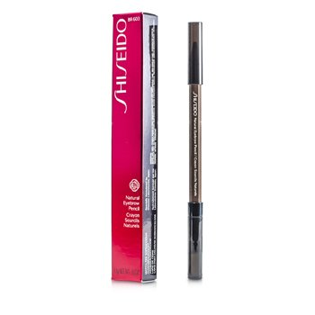 Shiseido Natural Eyebrow Pencil - # BR603 Light Brown  1.1g/0.03oz