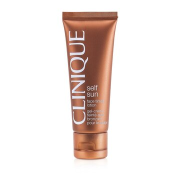 Clinique Self-Sun Face Tónovacie mlieko na tvár  50ml/1.7oz