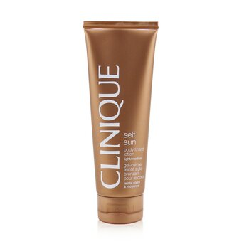 Clinique Samoopalająca emulsja do ciała Self-Sun Body Tinted Lotion - Light/ Medium  125ml/4.2oz