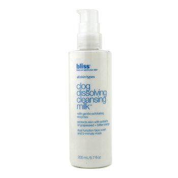 Bliss Clog Dissolving Cleansing Milk  200ml/6.7oz