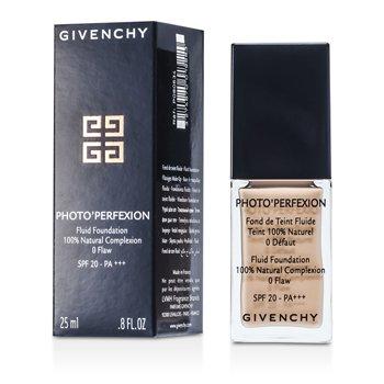 Givenchy Photo Perfexion Base Maquillaje Fluida SPF 20 - # 4 Perfect Vanilla P080834  25ml/0.8oz