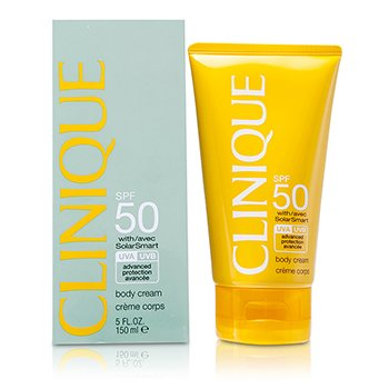 Clinique Sun SPF 50 Creme p/ o corpo UVA/ UVB  150ml/5oz