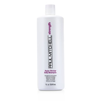 Paul Mitchell Super Strong  Champú Diario ( Fortalece y protege)  1000ml/33.8oz
