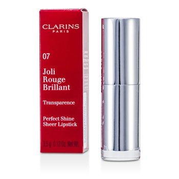 Clarins Pomadka nabłyszczająca Joli Rouge Brillant (Perfect Shine Sheer Lipstick) - #07 Raspberry  3.5g/0.12oz