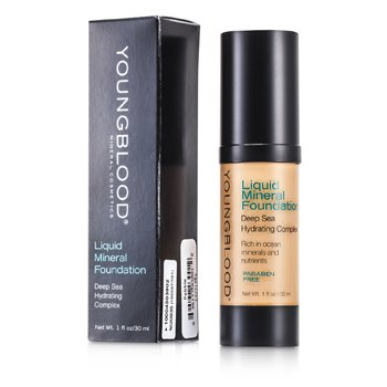 Youngblood Liquid Mineral Foundation - Pebble  30ml/1oz