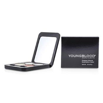 Youngblood Cuarteto Sombra de Ojos Minerales Prensadas - Eternit  4g/0.14oz