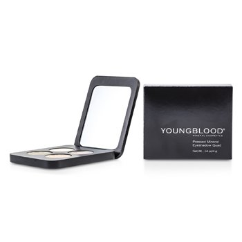 Youngblood Quadrado de sombras Pressed Mineral - Gemstones  4g/0.14oz