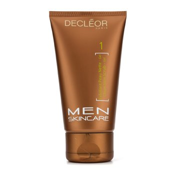 Decleor Men Essentials Clean Skin bőrradírozó zselé  125ml/4.2oz