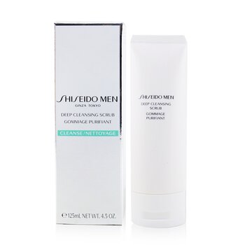 Shiseido Men Dyprens Skrubb  125ml/4.2oz