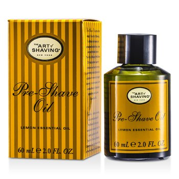 The Art Of Shaving Pre Shave Oil - Lemon Essential Oil (For All Skin Types)  60ml/2oz
