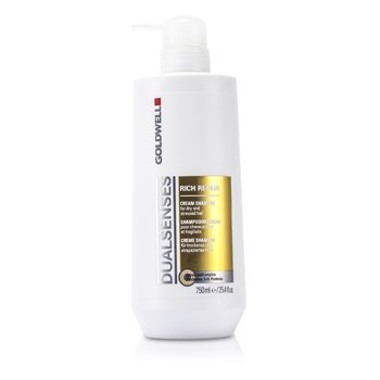 Goldwell Dual Senses Rich Repair Shampoo (For Dry, Damaged or Stressed Hair)  750ml/25oz