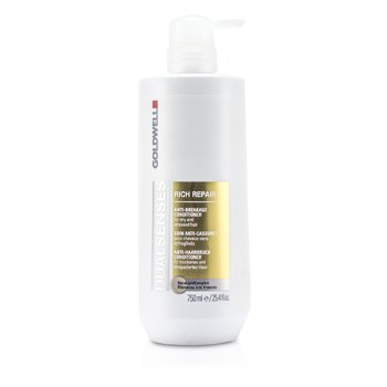 Goldwell Condicionador Dual Senses Rich Repair  ( cabelo seco, coloridos ou c/ quimica)  750ml/25oz