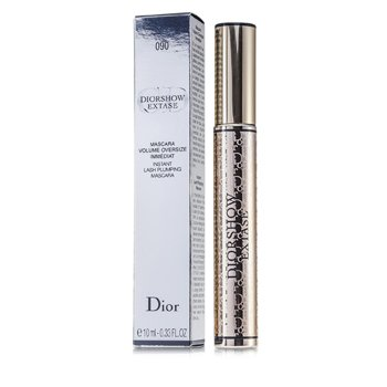 Christian Dior DiorShow Extase Flash Plumping Maskara - # 090 Black Extase  10ml/0.33oz