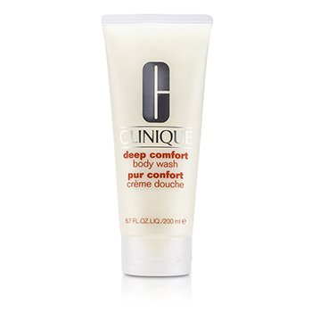 Clinique Deep Comfort Pembersih Tubuh  200ml/6.8oz