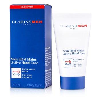 Clarins Men Active Hand Cream  75ml/2.6oz