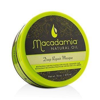 Macadamia Natural Oil Глубоко Восстанавливающая Маска (для Сухих, Поврежденных Волос)  470ml/16oz
