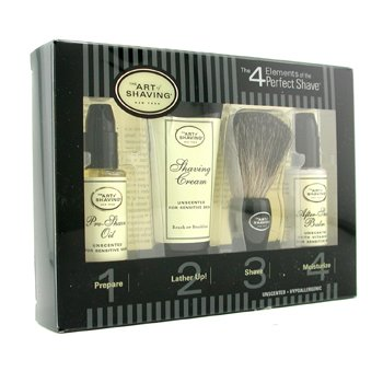 The Art Of Shaving Starter Kit - Inoloro: Aceite Pre-Afeitado + Crema Afeitado + Brocha + Bálsamo After Shave  4pcs
