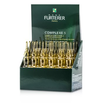 Rene Furterer Complexe 5 Regenerating Plant Extract (Tones The Scalp, Strengthens The Hair)  24x5ml/0.16oz