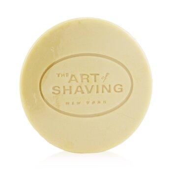 The Art Of Shaving Recambio Jabón Afeitado- Aceite Esencial de Lavanda ( Piel Sensible )  95g/3.4oz