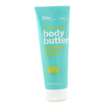 Bliss Lemon + Sage Body Butter  200ml/6.7oz
