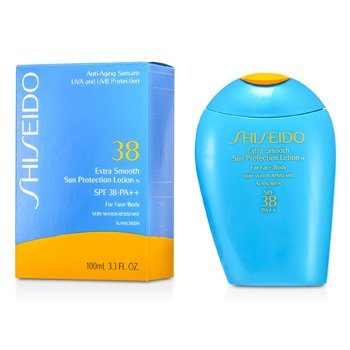 Shiseido Extra Smooth Loción Solar Protectora N SPF 38 ( Cara y Cuerpo )  100ml/3.3oz