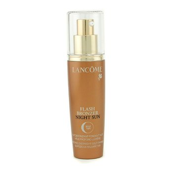 Lancome Flash Bronzer Night Sun Melting Overnight Self-Tanner Gorgeous Radiant Tan - Autobronceador Noche  50ml/1.69oz