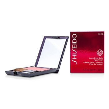 Shiseido Luminizing Satin Face Color - # RS302 Tea Rose  6.5g/0.22oz