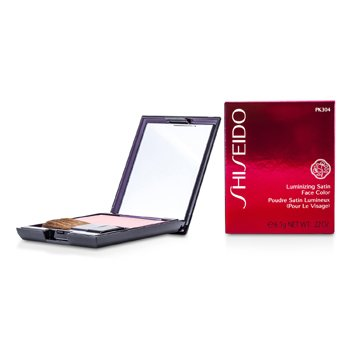 Shiseido Luminizing Satin Face Color - # PK304 Carnation  6.5g/0.22oz