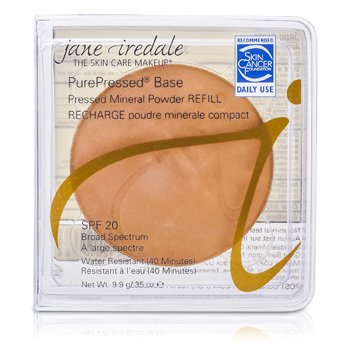 Jane Iredale PurePressed Base Pressed Mineral Powder Refill SPF 20 - Teakwood  9.9g/0.35oz