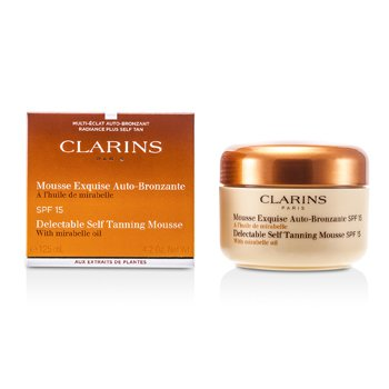 Clarins Delectable Self Tanning Mousse with Mirabelle Oil SPF 15 Mousse Bronceadora  125ml/4.2oz