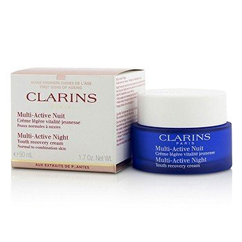 Clarins Multi-Active Night Youth Recovery Cream ( Para pele Normal a Mista )  50ml/1.7oz