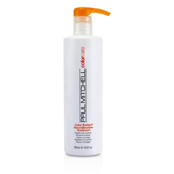 פול מיטשל Color Protect Reconstructive Treatment (Repairs and Protects)  500ml/16.9oz