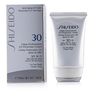 Shiseido Urban Environment UV Protection Cream SPF 30 (For Face & Body)  50ml/1.8oz