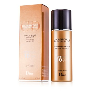 Christian Dior Dior Bronze Voile De Monoi Tan Enhancer Medium Protection SPF10 UVA  200ml/6.7oz