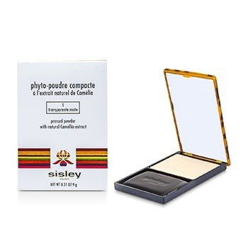 Sisley Phyto Poudre  Compacto Polvos Prensados - #1 Transparente Mate  9g/0.31oz