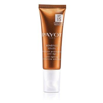 Payot Benefice Soleil Emulsión Protectora Antienvejecimiento SPF 15 UVA/UVB  50ml/1.6oz