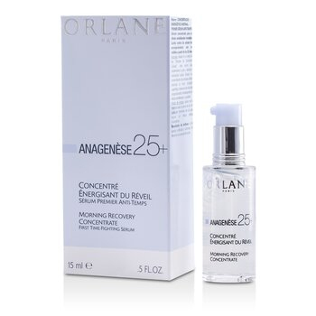 Orlane Anagenese 25+ Morning Recovery Concentrate First Time-Fighting  - Serum Antienvejecimiento  15ml/0.5oz