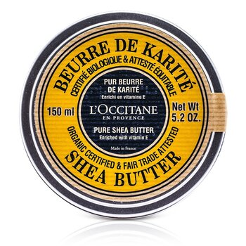 L'Occitane Organic Pure Shea Butter  150ml/5.2oz