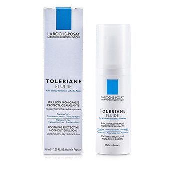 La Roche Posay Toleriane Fluid Soothing Protective Non-Oily Emulsion (Combination to Oily Skin)  40ml/1.35oz