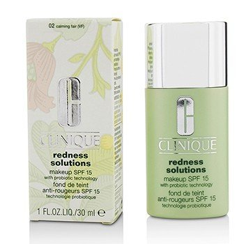 Clinique Redness SolutionsMaquillaje SPF 15 - # 02 Calming Fair  30ml/1oz