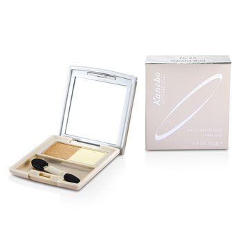 Kanebo Eye Colour Duo - # EC25 Peaceful Beige  3g/0.1oz