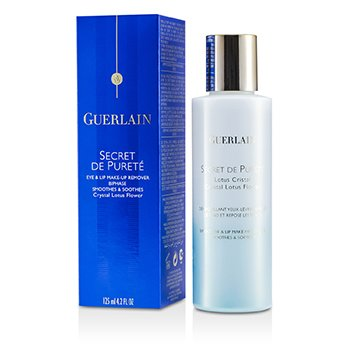 Guerlain Secret De Purete Biphase Eye & Lip removedor de maquiagem ( Smoothes & Soothes )  125ml/4.2oz